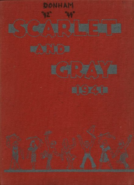 1941 West Lafayette High School Yearbook Cover