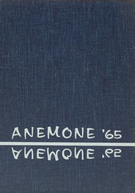1965 Windfall High School Yearbook Cover