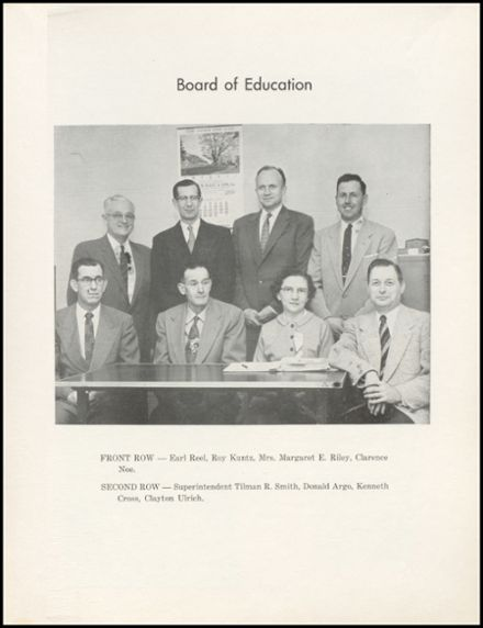 1957 Eureka High School Yearbook Page 9