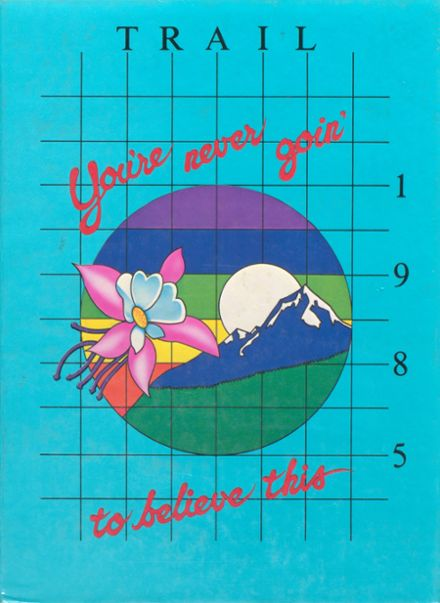1985 Overland High School Yearbook Cover