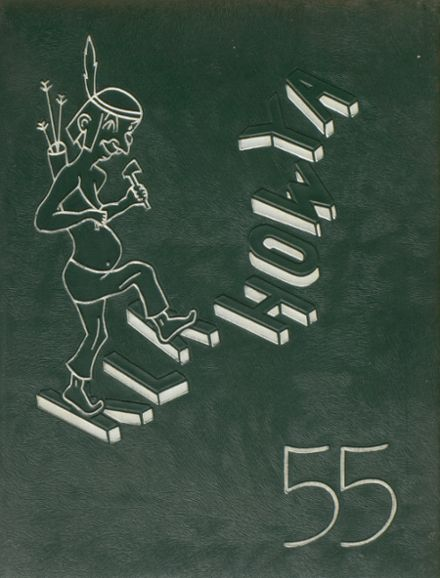 1955 Clover Park High School Yearbook Cover