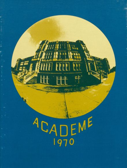 1970 Academy High School Yearbook Cover