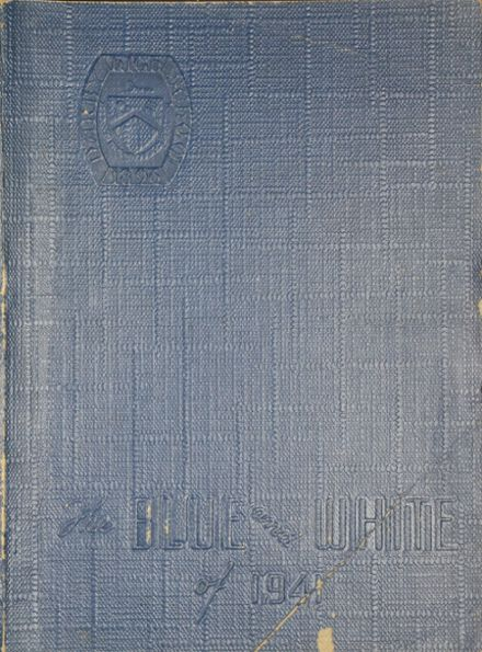 1941 Darby High School Yearbook Cover