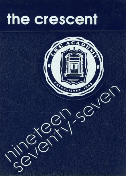 1977 Lee Academy Yearbook Cover