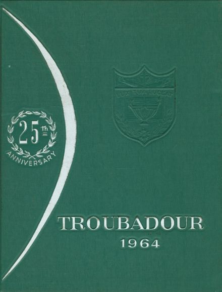 1964 Catholic High School of Baltimore Yearbook Cover