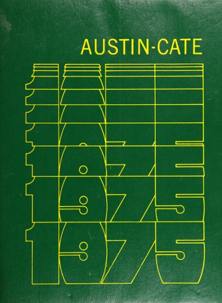 1975 Austin-Cate Academy Yearbook Cover