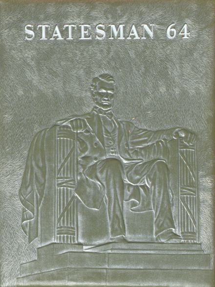 1964 Lincoln High School Yearbook Cover