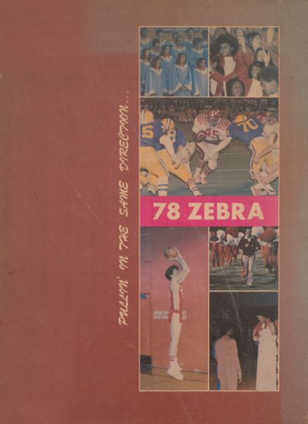 1978 Pine Bluff High School Yearbook Cover