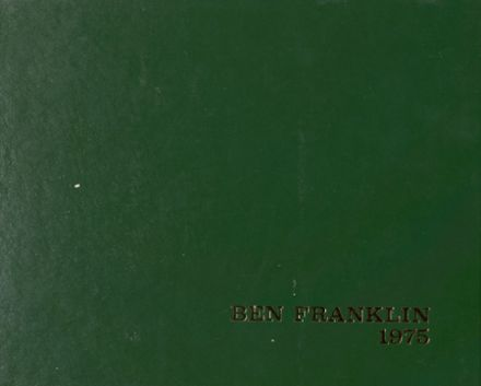 1975 Benjamin Franklin High School Yearbook Page 1