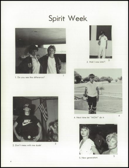 1985 Independence High School Yearbook Page 8