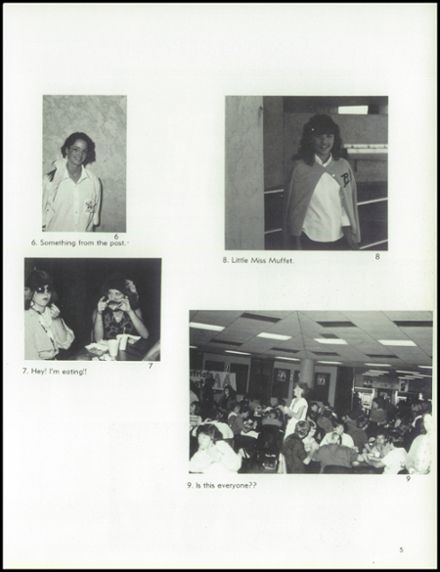 1985 Independence High School Yearbook Page 9