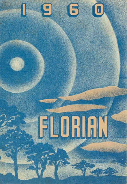 1960 Flora High School Yearbook Cover