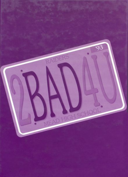 1993 Mead High School Yearbook Cover