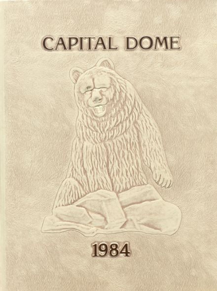 1984 Capital High School Yearbook Cover