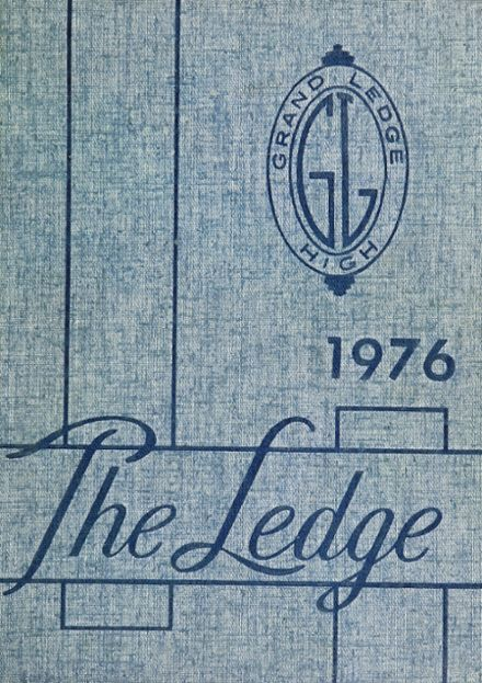 1976 Grand Ledge High School Yearbook Cover