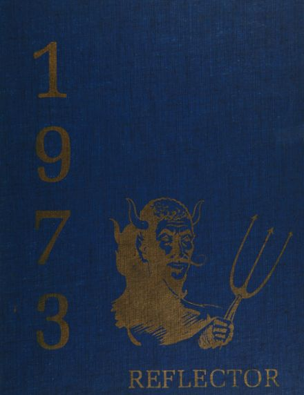 1973 Lawton High School Yearbook Cover