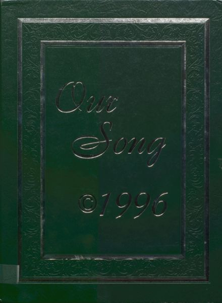 1996 New Milford High School Yearbook Cover