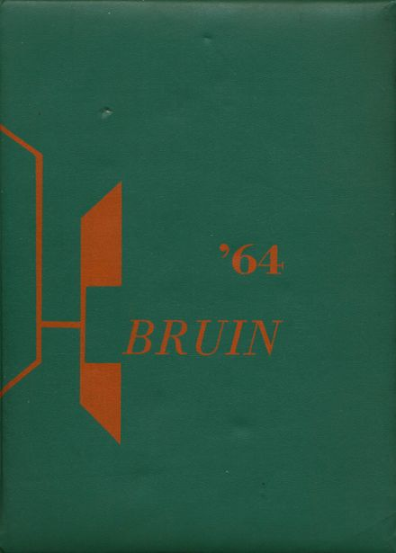 1964 Abbey School Yearbook Cover