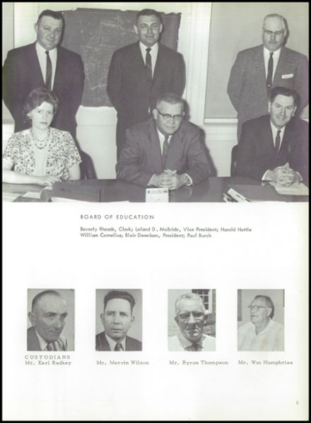 1963 Hillsboro High School Yearbook Page 9