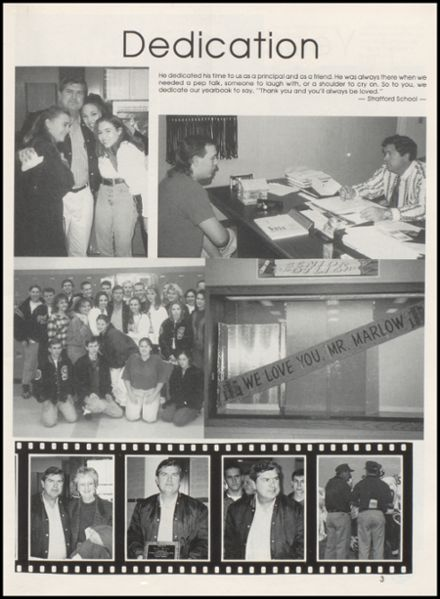 1996 Stratford High School Yearbook Page 7