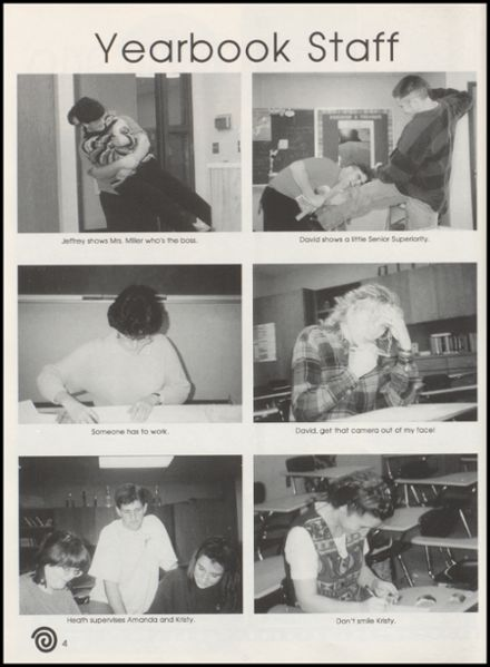 1996 Stratford High School Yearbook Page 8