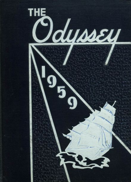 1959 Parkville High School Yearbook Cover