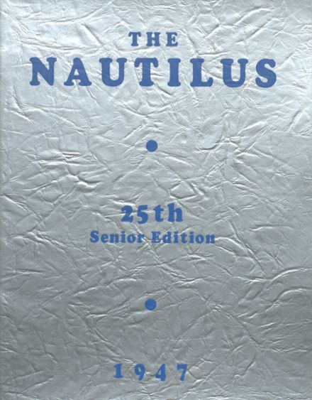 1947 College High School Yearbook Cover