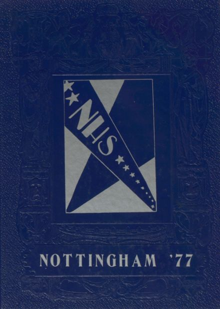 1977 Nottingham High School Yearbook Cover