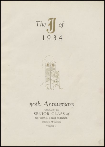 1934 Jefferson High School Yearbook Page 5