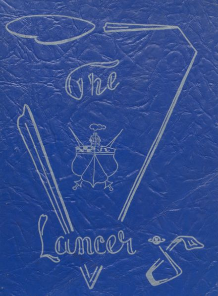 1952 Canby High School Yearbook Cover