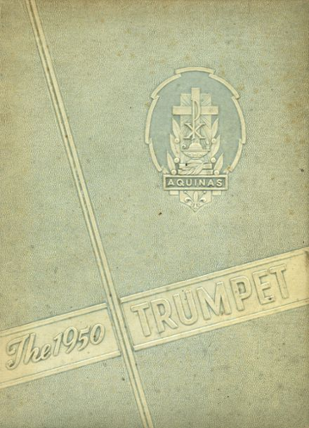 1950 Aquinas High School Yearbook Cover