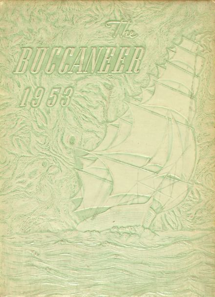 1953 Covington High School Yearbook Cover