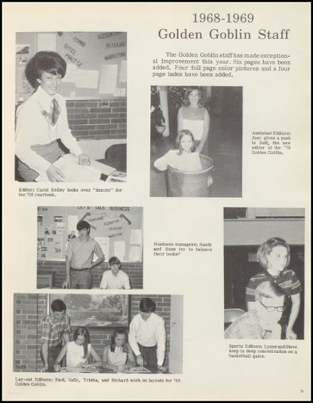 Explore 1969 Harrison High School Yearbook, Harrison AR - Classmates