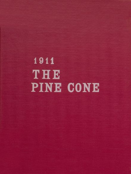 1911 Pine Bluff High School Yearbook Cover