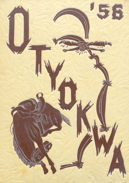 1956 Ysleta High School Yearbook Cover