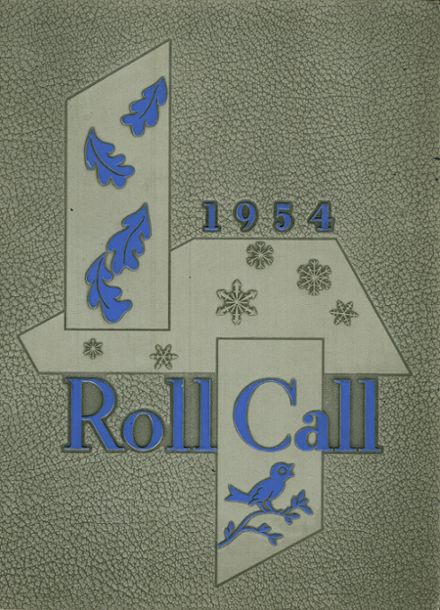 1954 Culver Military Academy Yearbook Cover