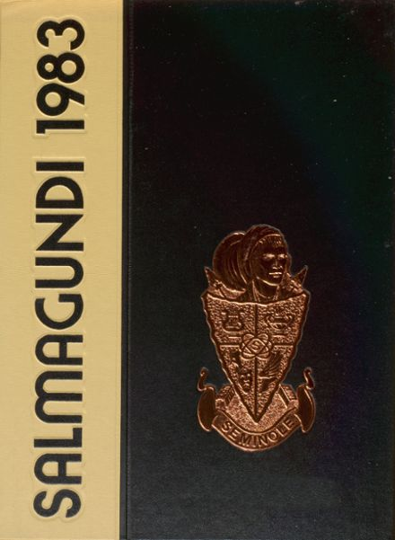 1983 Seminole High School (Seminole County) Yearbook Cover