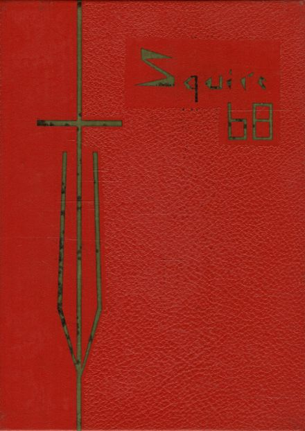 1968 St. Paul Latin High School Yearbook Cover