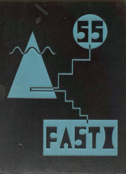 1955 Chaffey High School Yearbook Cover