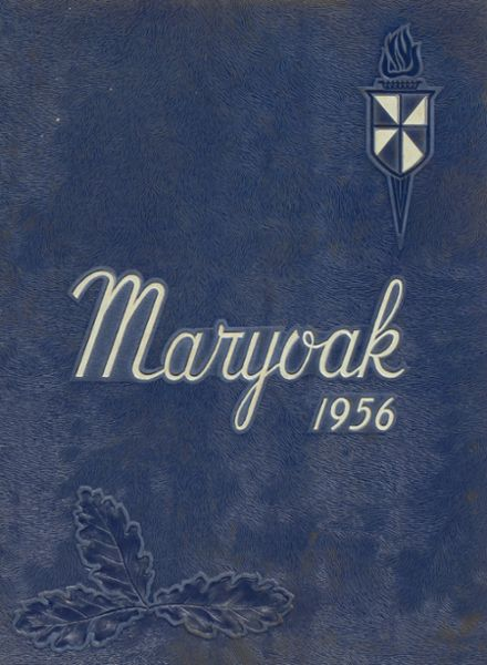 1956 St. Mary's High School Yearbook Cover