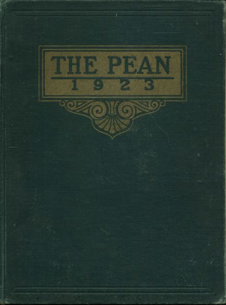 1923 Phillips Exeter Academy Yearbook Cover