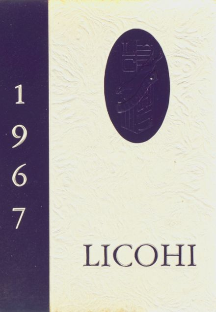 1967 Litchfield High School Yearbook Cover