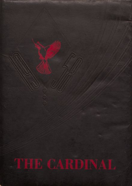 1958 Taylor County High School Yearbook Cover