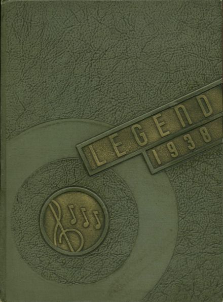 1938 Ottawa Hills High School Yearbook Cover