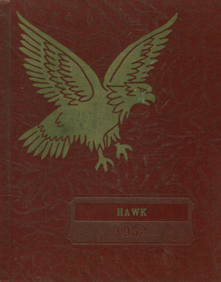 1954 Climbing Hill High School Yearbook Cover