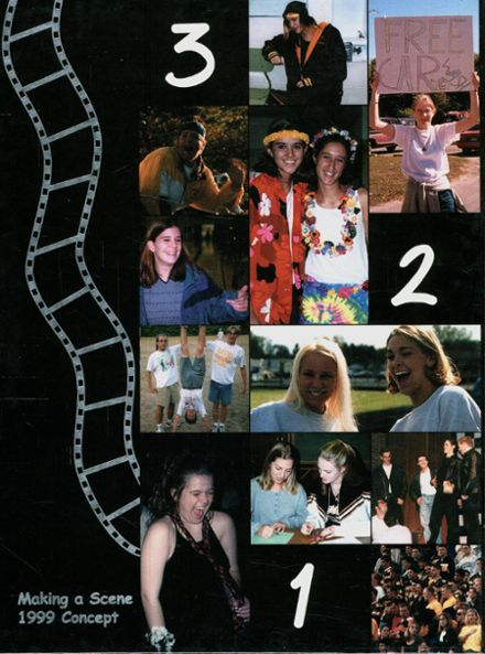 1999 Western High School Yearbook Cover