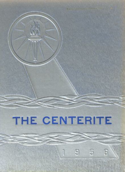 1956 Dodge Center High School Yearbook Cover