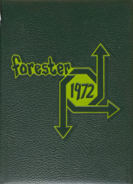 1972 Forest Hills High School Yearbook Cover