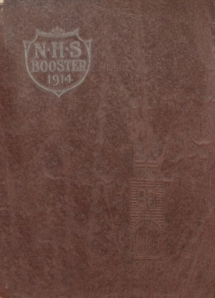 1914 Newkirk High School Yearbook Cover
