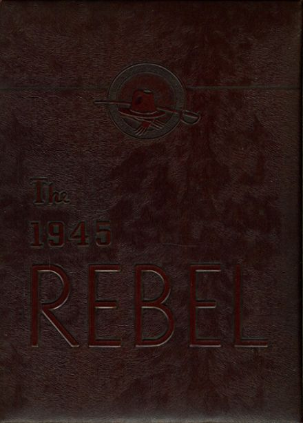 1945 Carlisle Military School Yearbook Cover